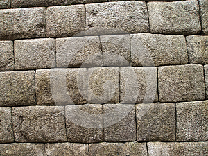 Detail Of Inca Wall Stock Photo - Image: 25493520
