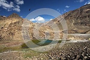 Mountain Landscape With Lake. Himalayas Stock Photography - Image: 25495132