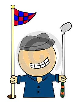 Golfer Royalty Free Stock Images - Image: 25499309