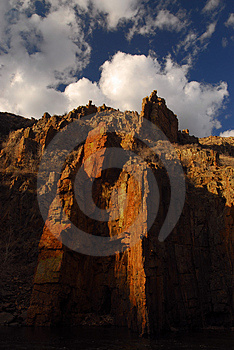 Cathedral Of Rock Royalty Free Stock Images - Image: 2551639