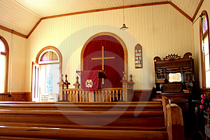 Church In New Zealand Royalty Free Stock Images - Image: 2553049