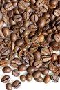Grains of coffee. Stock Photos