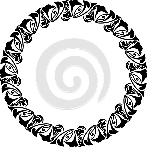 Arab Circle Pattern Stock Image - Image: 25500441