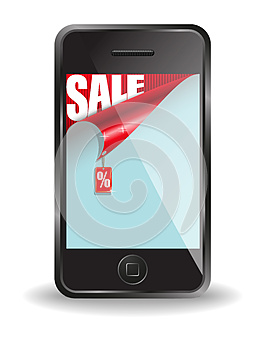Message On Sale Royalty Free Stock Photo - Image: 25501985