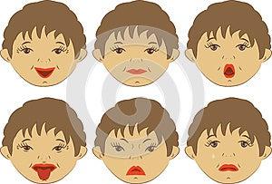 Emotions Royalty Free Stock Image - Image: 25504906