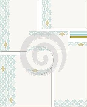 Modern Wedding Templates Stock Photography - Image: 25514042