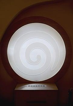 Round Window Royalty Free Stock Photography - Image: 25530857