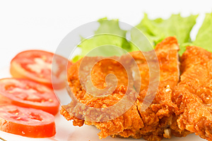 Fried Chicken Royalty Free Stock Photo - Image: 25540725