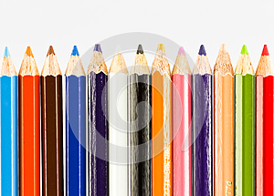 Colorful Pencils Stock Images - Image: 25540764