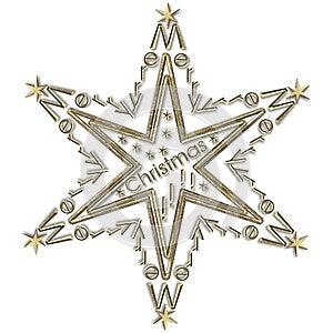 Star Merry Christmas Stock Photo - Image: 25544680