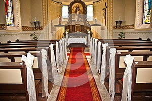 Interior Of The Church Stock Photo - Image: 25548450