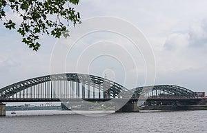 Cologne Bridge Royalty Free Stock Image - Image: 25552426