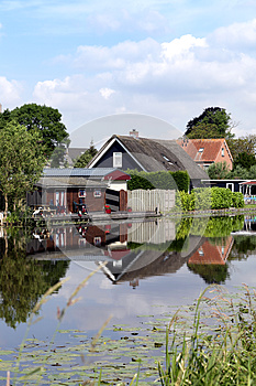 Houses In Holland Royalty Free Stock Photos - Image: 25560228