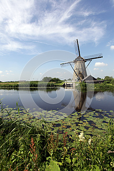 Windmills In Holland Stock Photos - Image: 25560283