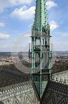 Cathedral Of St. Vitus Royalty Free Stock Images - Image: 25560699