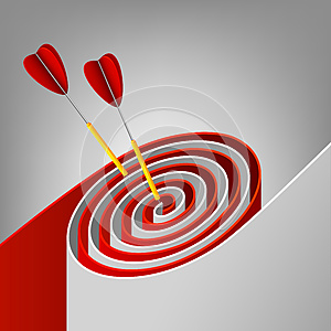 Target Royalty Free Stock Images - Image: 25563299