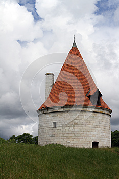 Kuressaare Episcopal Castle Tower Royalty Free Stock Images - Image: 25564439