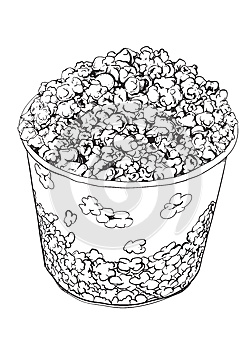 Popcorn Stock Image - Image: 25582301