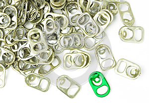 Ring Pulls Stock Photography - Image: 25591392