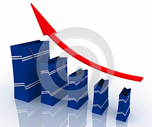 Sales Growth Chart Stock Photos - Image: 25595683