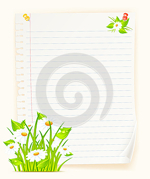 Paper & Bouquet Royalty Free Stock Photography - Image: 25596847