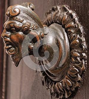 Ancient Door Knob Royalty Free Stock Photography - Image: 25605957