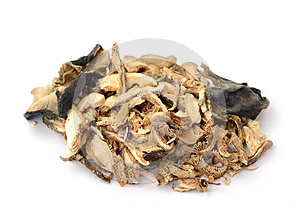 Dried Mushrooms Stock Photography - Image: 25605982