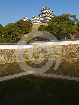 A Moat Of Himeji Castle Royalty Free Stock Image - Image: 25608106