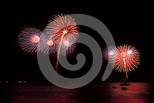 Fireworks Stock Photo - Image: 25609160