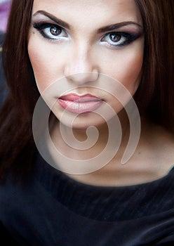Portraite Of A Pretty Girl Stock Photo - Image: 25610140