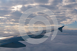 Plane Wing Royalty Free Stock Images - Image: 25622729