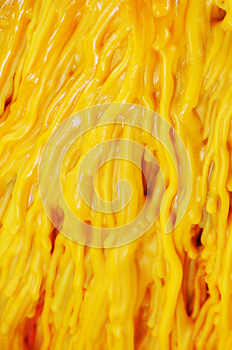 Big Yellow Candle Dripping Royalty Free Stock Image - Image: 25626766