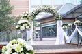 Wedding scene Stock Image