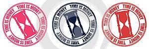 Stamp Time Royalty Free Stock Image - Image: 25631316