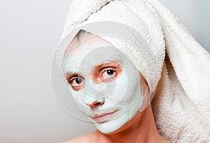 Spa Facial Mask Royalty Free Stock Photos - Image: 25632228