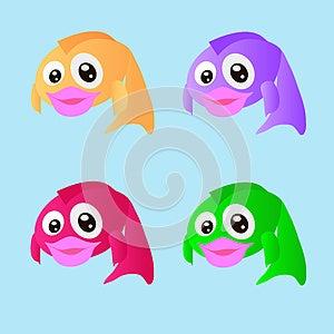 Four Fish Stock Image - Image: 25632571