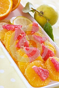 Grapefruit And Oranges Stock Photos - Image: 25640743