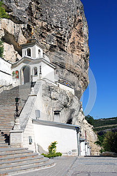 Temple On The Rock Royalty Free Stock Photos - Image: 25643488