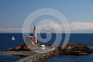 Fisgard Lighthouse Near Victoria , Vancouver Islan Stock Photography - Image: 25644102