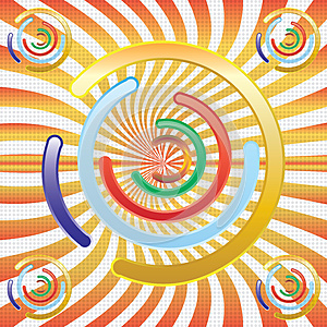 Abstract Colorful Circules Stock Photography - Image: 25645472