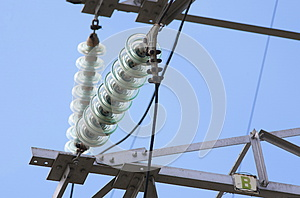 Power Line Royalty Free Stock Photography - Image: 25650687