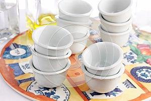 Empty Cups Stock Photo - Image: 25653460