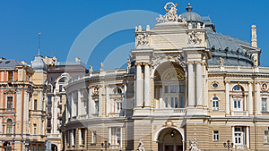 Ornate Facade Of Historical Building Stock Photography - Image: 25653502
