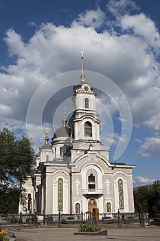 Holy Transfiguration Cathedral Royalty Free Stock Photos - Image: 25662158