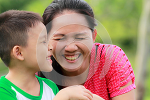 Child And Mother Royalty Free Stock Images - Image: 25663199
