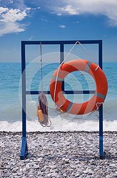 Lifebuoy Stock Photo - Image: 25663500