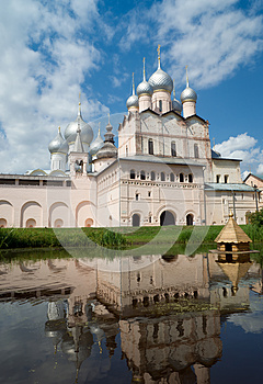 Church Of The Resurrection In Rostov Kremlin Stock Photography - Image: 25664972