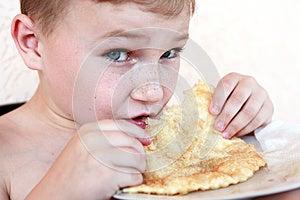 Eating Boy Stock Photo - Image: 25669320