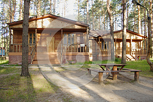 Wooden Country House Stock Photos - Image: 25672033