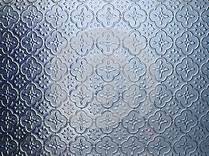 Blue Pattern Glass Royalty Free Stock Photo - Image: 25676975